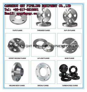 ASTM A182 F11 F12 Alloy Steel Pipe Fittings Flange Size