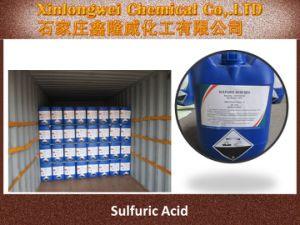 High Quality Sulphric Acid 98% Industry Grade pictures & photos