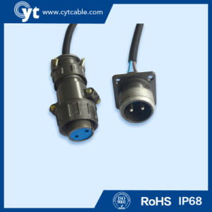 High Quality 2~6 Pin Waterproof connector for Electric Waterproof Equipment pictures & photos