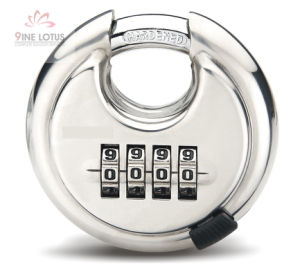 High Quality Stainless Steel Disc Combination Padlock pictures & photos