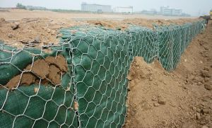 Galvanized Hexagonal Wire Mesh Gabion Box / Gabion for Flood Control / Gabion Basket for Protect Flood pictures & photos