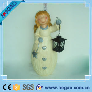 Pretty Resin Girl for Garden Decoration pictures & photos