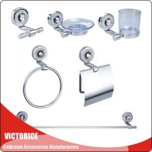 China Luxurious Bathroom Accessory Set Crystal Decoration Bath - Bathroom hardware sale