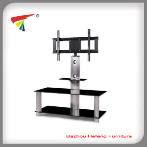 Modern Plasma Glass TV Stand (TV042) pictures & photos
