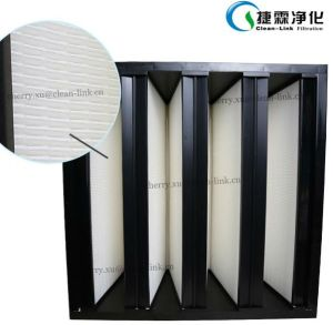 V-Bank Filter for Heating Ventilation and Air Conditioning pictures & photos
