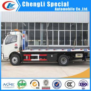 4*2 Flatform Tow Wrecker Truck 5tons for Sale pictures & photos