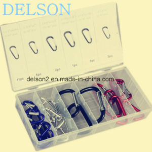 High Quality Climbing Button Carabiner Safety Hook Mountaineering Buckle pictures & photos