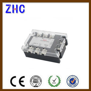 Three Phase DC to AC 3-32VDC to 480VAC 40A Black Solid State Relay / SSR Relay with Ce pictures & photos
