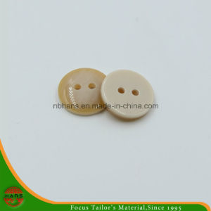 2 Holes New Design Polyester Shirt Button (S-119) pictures & photos