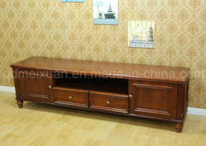 Solid Wooden Living Room Cabinet TV Stand (M-X2681) pictures & photos