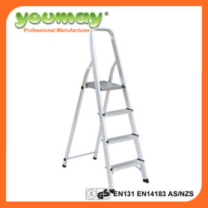 En131 Aluminum Step Ladder Af0304A/Werner Ladders/Foldable Ladder
