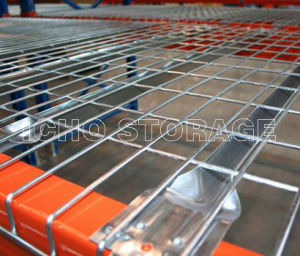 Customized Galvanized Wire Mesh Decking for Warehouse Storage Pallet Racking pictures & photos