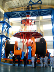 Cll Vertical Laying-up Machine for Submarine Cable, Many Types pictures & photos