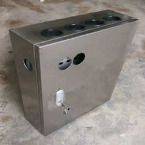 Industrial Equippment Shield Alumium Sheet Metal Junction Box