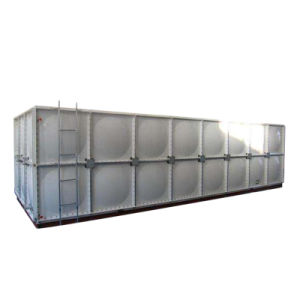 100m3 FRP GRP SMC Panel Sectional FRP Fiberglass Square Water Tank