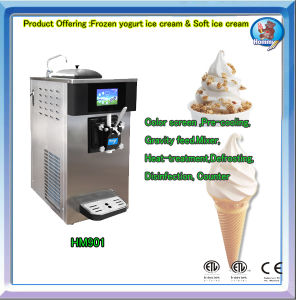 Ice Cream Machine (HM901) with pre-cooling function pictures & photos
