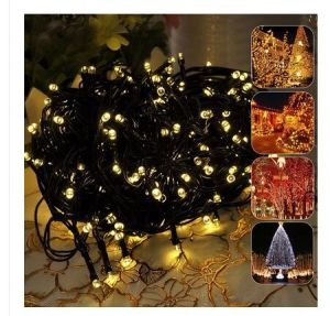Warm White Solar String Light for Street Decoration