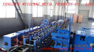 Wg25 Square Tube Making Machine