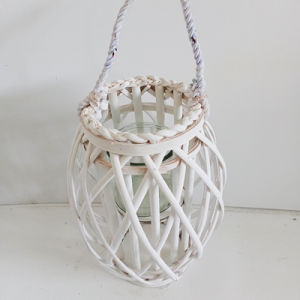 Customized Eco-Friend Handmade Vintage Rattan Lantern