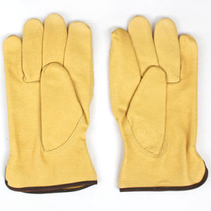 High Quality Cow/Goat/Sheep Grain Leather Driver Working Gloves