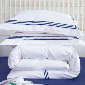 China Home Hotel 100 Cotton King Size Flat Sheet Pillowcases Bed