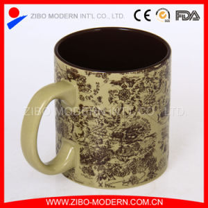Stocked 20oz Cylinder Shape Mug with Emboss Decal Printing pictures & photos