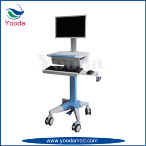 Medical Storage Cart with Computer Workstation pictures & photos