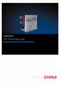 24kv Vacuum Circuit Breaker for Indoor Type with Handcart pictures & photos