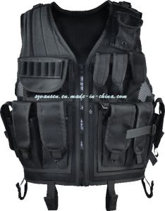 Military Gear Black Tactical Vest pictures & photos