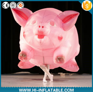 Creative Design Advertising Inflatable Flying Pig Costume, Inflatable Mascot Costume for Event