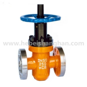 Flange Type Butt Welded High Pressure Flat Gate Valve with Hoop