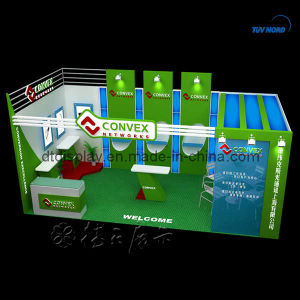 Wooden Exhibition Booth 10′x20′