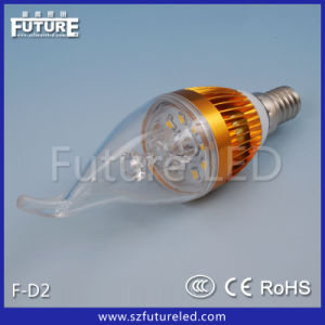 3W LED Candle Bulbs Taillight for Crystal Lamp
