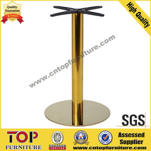 Strong Titanium Steel Coffee Restaurant Dining Table pictures & photos