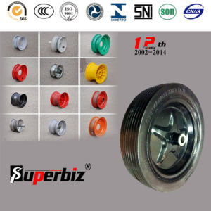 Heavy Duty Solid Rubber Wheel (3.50-8) pictures & photos