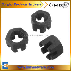 Carbon Steel Hex Castle Nut DIN935 Hex Slotted Nut pictures & photos