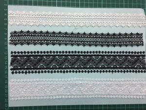 Factory Stock Garment Accessories Polyester Lace Triming 0018 pictures & photos