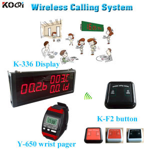 Easy to Use Receiver Equipment K-336+Y-650+K-F2 Table Ordering System pictures & photos