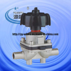 Aseptic Diaphragm Valve for High Purity Application pictures & photos
