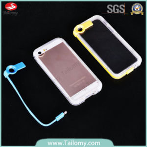 New Arrival LED Flash Luminous USB Cable Case for iPhone 5 (TMT0809119)