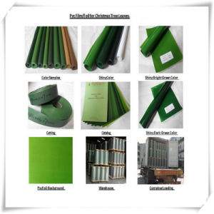Rigid PVC Film for Making Christmas Tree Leaves pictures & photos