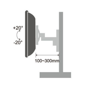 Adjustable Monitor Stand Suitable for 13′′-27′′ pictures & photos
