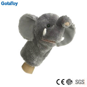 High Quality Plush Elephant Hand Puppet Stuffed Elephant Soft Toy