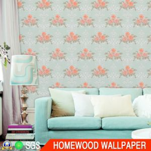 Modern Italy Design Deep Embossed Vinyl Wall Paper with Cheap Price