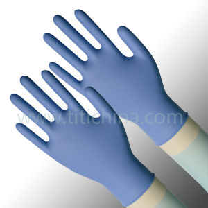 Disposable Nitrile Gloves Work Glove in Malaysia (NGBL-PFS3.0) pictures & photos
