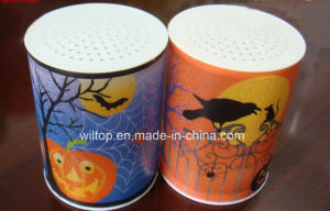 Plastic Halloween LED Light up Candle (LP015) pictures & photos