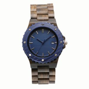 Men′s Watch for Wood Material
