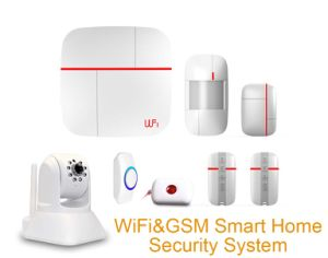 Smart WiFi & GSM Alarm System with 99 Wireless Zones pictures & photos