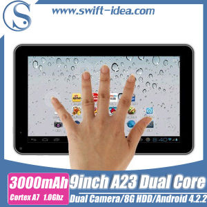 2014 Hot 9 Inch Android China Cheap Tablets PC A23 with OTG (PBD925A)