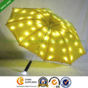 Creative Automatic LED Umbrella Flashlight on Full Cover (LED-0023ZFHF)